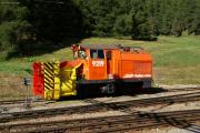 Schneeschleuder Xrotet 9219 in Pontresina
