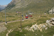"""Allegra"" ABe 8/12 3504 oberhalb Bernina Lagalb"