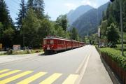 ABe 4/4 48 und 44 mit Zug 1652 in Le Prese