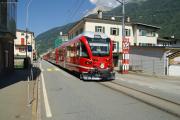 """""""Allegra"""" ABe 8/12 3503 scheppert mit Zug 1629 durch Le Prese"""