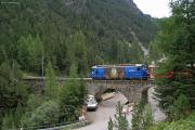 Ge 4/4 III 652 auf dem Albulaviadukt I unterhalb des Rugnux-Kehrtunnels