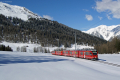 ABe 8/12 3501 kurz vor Davos Wolfgang