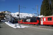 Ge 4/4 III 648 in Davos Wolfgang