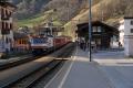 Ge 4/4 III 641 in Klosters Dorf