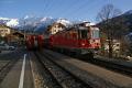 Ge 4/4 II 627 in Klosters Dorf