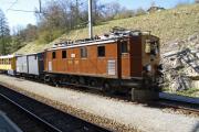 Ge 4/6 353 mit Sonderzug des Club 1889 in Filisur
