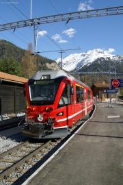 ABe 8/12 3508 in Bergün/Bravuogn