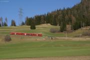 ABe 8/12 3512 oberhalb Bergün/Bravuogn