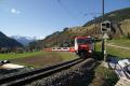 Glacier-Express mit Ge 4/4 III 650 oberhalb Bergün/Bravuogn