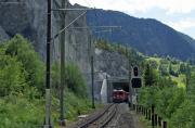 Ge 44 II 614 in der Rheinschlucht bei Valendas
