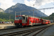 Ge 4/4 III 651 in Reichenau-Tamins