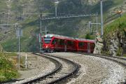 Allegra ABe 8/12 3513 in Alp Grüm