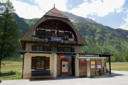 Cavaglia. Stationsgebäude nach sanfter Renovation