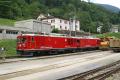 Gem 4/4 801 und 802 in Poschiavo
