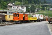 De 2/2 151 hat Rangierdienst in Poschiavo