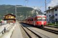S-Bahnpendelzug mit Be 4/4 513 am Schluss in Bonaduz