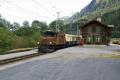 Ge 6/6 I 415 mit dem Alpine Classic Pullman in Castrisch