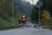 "Ge 4/4 182, ""Bernina-Krokodil"", unterhalb Miralago"
