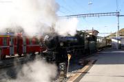G 4/5 107 erreicht, gezogen, St. Moritz