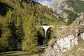 G 4/5 107 auf dem Albula-Viadukt III zwischen Preda und Bergün