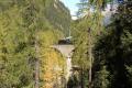 G 4/5 107 auf dem Albula-Viadukt II zwischen Preda und Bergün