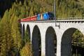 Ge 4/4 III 652 auf dem Albula-Viadukt III zwischen Preda und Bergün