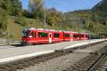 Allegra ABe 8/12 3507 in Filisur als Regionalzug nach Davos Platz
