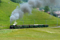 Dampffahrt Surselva mit der G4/5 107 bei Trun