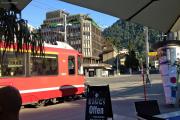 """Allegra Abe 8/12 3513 als """"Tram"""" nach Arosa in Chur"""