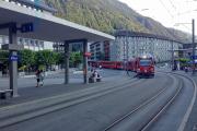 Ankunft eines Allegra aus Arosa in Chur