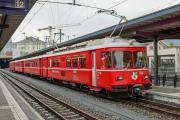 Regiopendler mit Be 4/4 512 in Chur