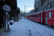 RE 1029 nach Davos Platz, Hst. Cavadürli ob Klosters