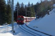 RE 1032 nach Landquart bei Cavadürli ob Klosters