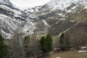 Palü-Gletscher mit Palü-See. Alp Grüm.
