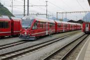 Neuer Wechselstrom-Allegra ABe 4/16 3104 in Landquart.