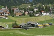 Ge 6/6 I 415 mit Extrazug in Bergün