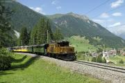 Ge 6/6 I 415 mit Extrazug ob Bergün