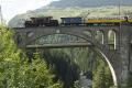 Ge 6/6 I 415 auf dem Soliser-Viadukt