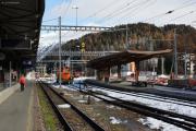 Bhf St. Moritz im Umbau