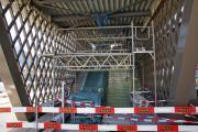 Bhf Arosa kurz vor Abschluss der Umbauarbeiten