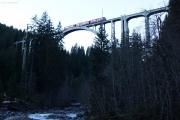 Allegra auf dem Langwieser-Viadukt