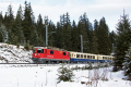 """100 Jahre Chur - Arosa! Ge 4/4 II 625 mit dem """"Alpine Classic Pullmann Express"""" bei der DStn Haspelgrube"""