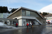 100 Jahre Chur - Arosa! Neue Passerelle des Bhf Arosa