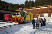 100 Jahre Chur - Arosa. Neue Schleuder Xrotmt 95401 in Arosa