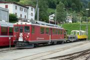 ABe 4/4 II 47 abgestellt in Poschiavo