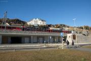 Umbau des Bahnhofs St. Moritz