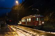 ABe 4/4 II 46 mit Bauzug in Alp Grüm