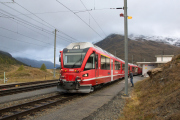 ABe 8/12 3510 in Bernina Lagalb