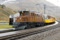 "Bahnoldtimer - 20 Jahre Club 1889: ""Bernina-Krokodil"" Ge 4/4 182 in Bernina Suot"