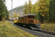 "Bahnoldtimer - 20 Jahre Club 1889: ""Bellavista-Express"" mit Ge 4/4 182 ob Pontresina"